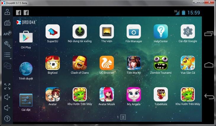 10 phần mềm giả lập Android trên Windows tốt nhất