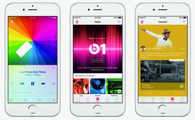download music on iphone with apple music