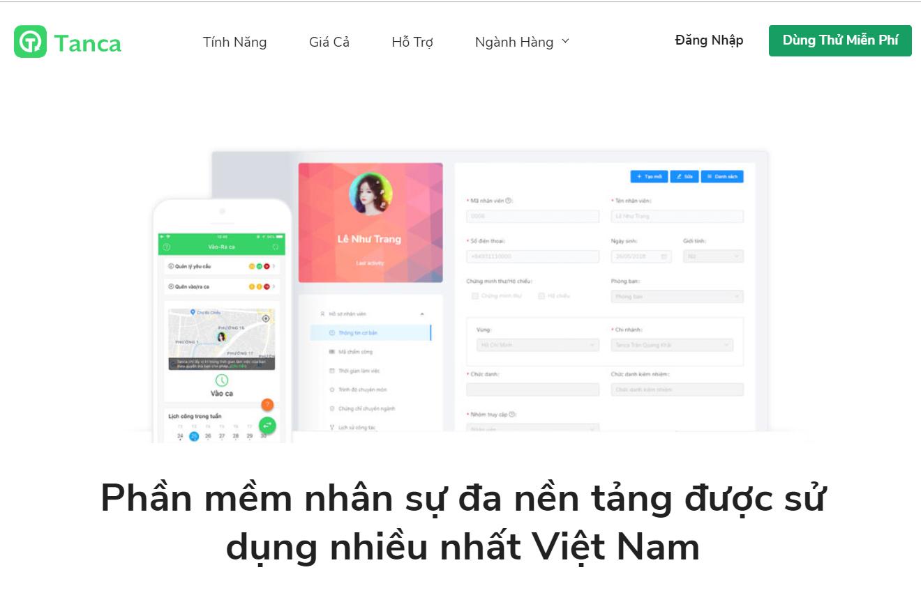 Top 5 phần mềm quản lý nhân sự miễn phí tốt nhất Việt Nam