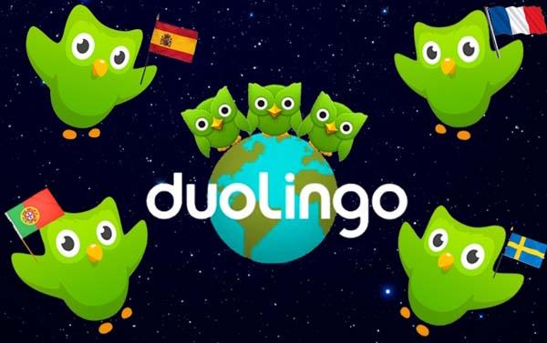 website duolingo được các bạn ôn thi toeic rất ưa chuộng