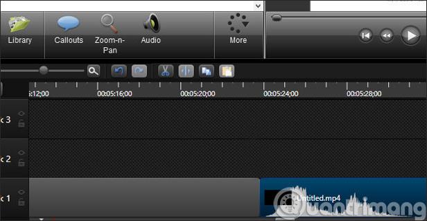 Ghép video trên Camtasia