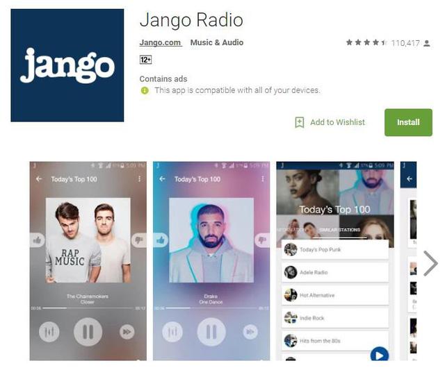 10 ứng dụng nghe nhạc miễn phí cho Android - Ảnh 4.