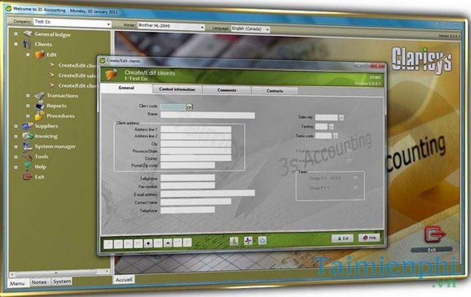 Phần mềm kế toán 3S Accounting