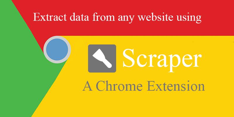 Lấy nội dung từ các website bằng Scraper