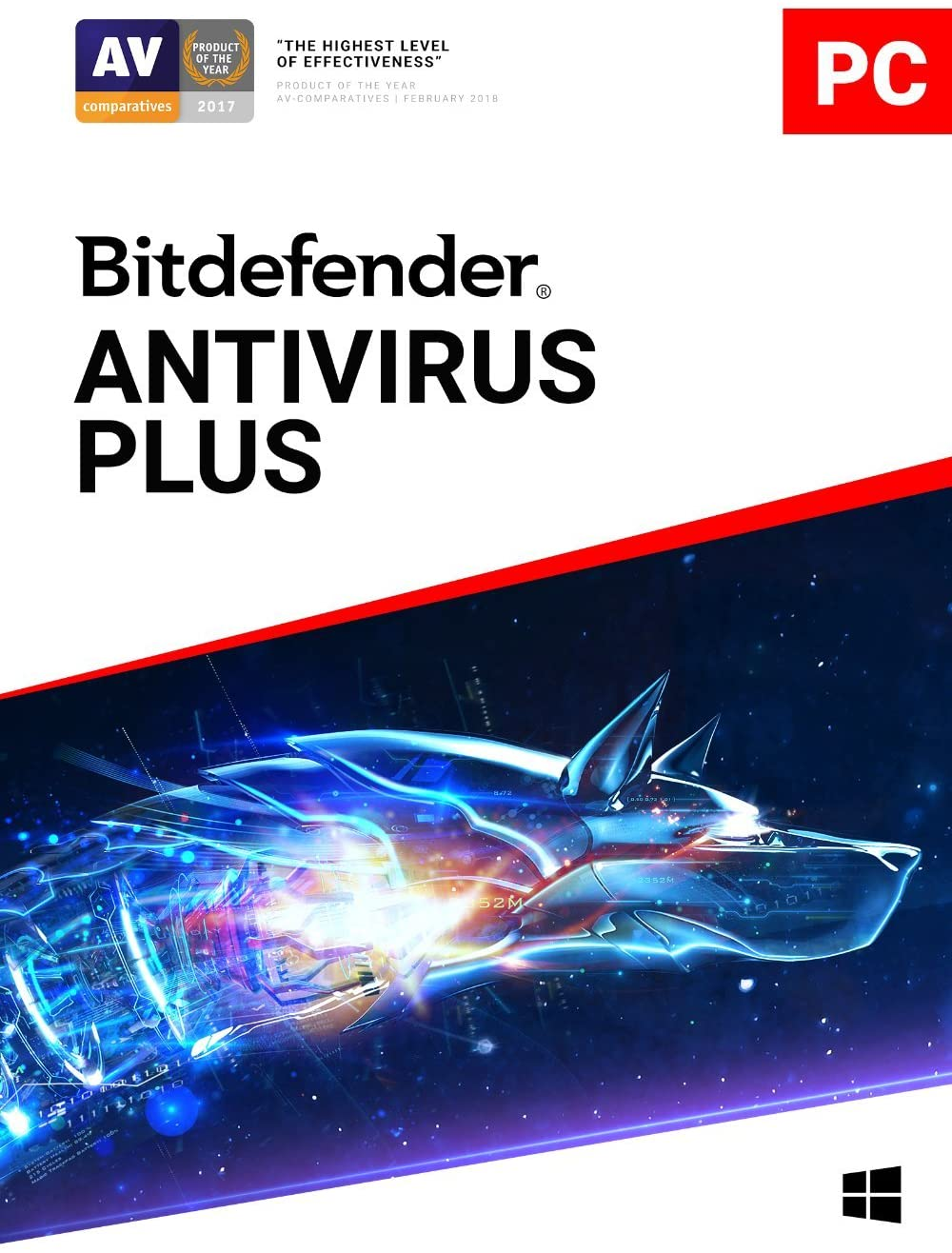 Amazon.com: Bitdefender Antivirus Plus - 1 Device | 1 year Subscription |  PC Activation Code by email: Software