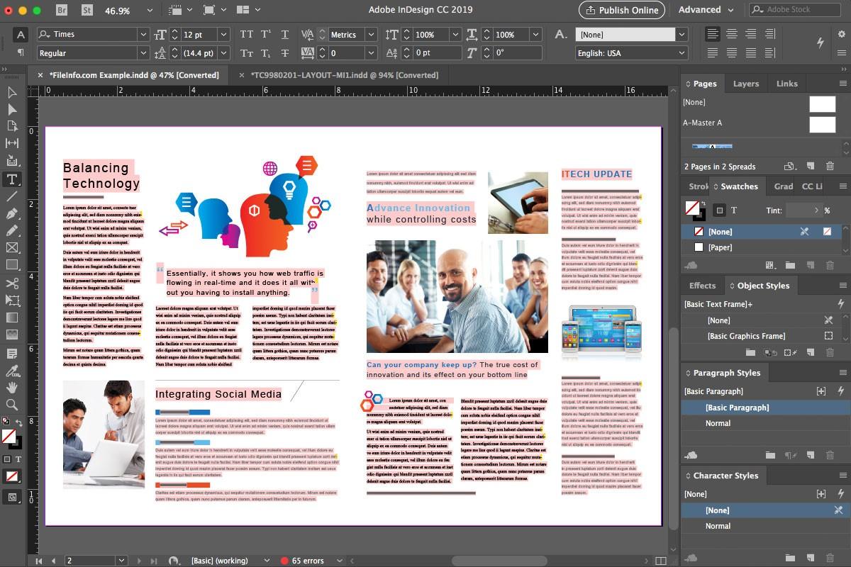 Adobe InDesign CC 2019 - Download - Hướng dẫn cài đặt nhanh nhất