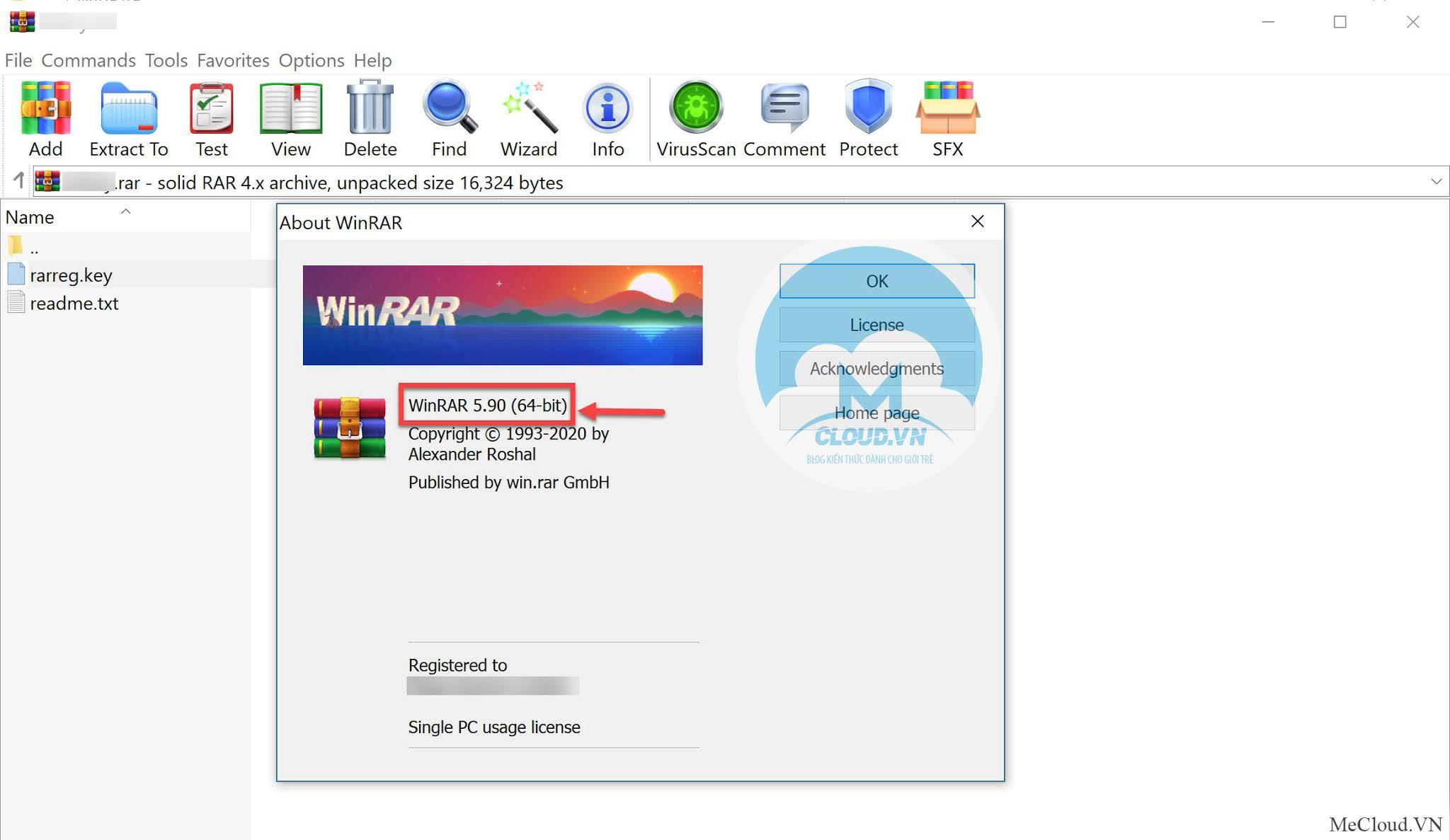 Phần mềm nén và giải nén WinRAR 5.91 Final + Key bản quyền - MeCloud - Blog  chia sẻ kiến thức dành riêng cho giới trẻ.