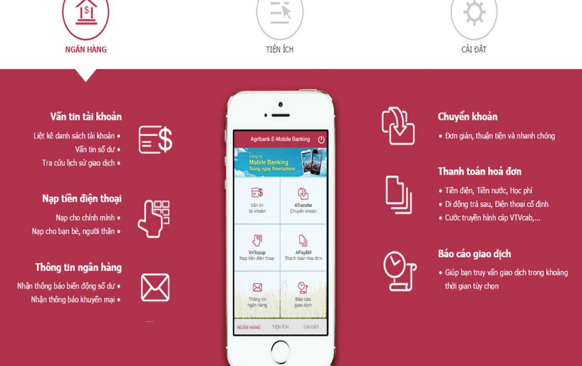 Phí E-Mobile Banking của Agribank hiện nay là bao nhiêu?