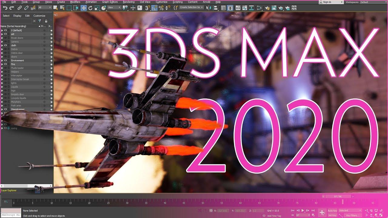 3D Studio Max 2020 Có Gì Hot | chia sẻ bởi Làm Phim Quảng Cáo .TV