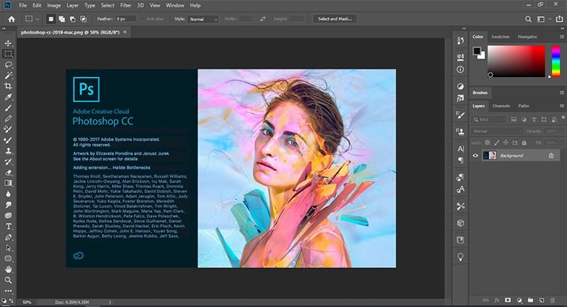 Phần mềm thiết kế đồ họa Adobe Photoshop