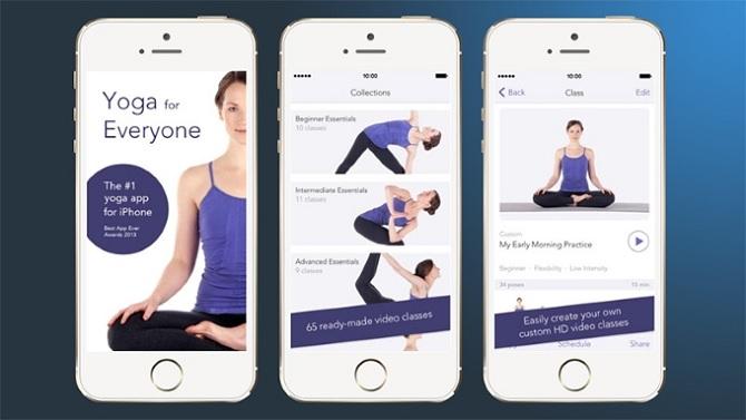 Yoga Studio – Ứng dụng dành cho những tín đồ Yoga