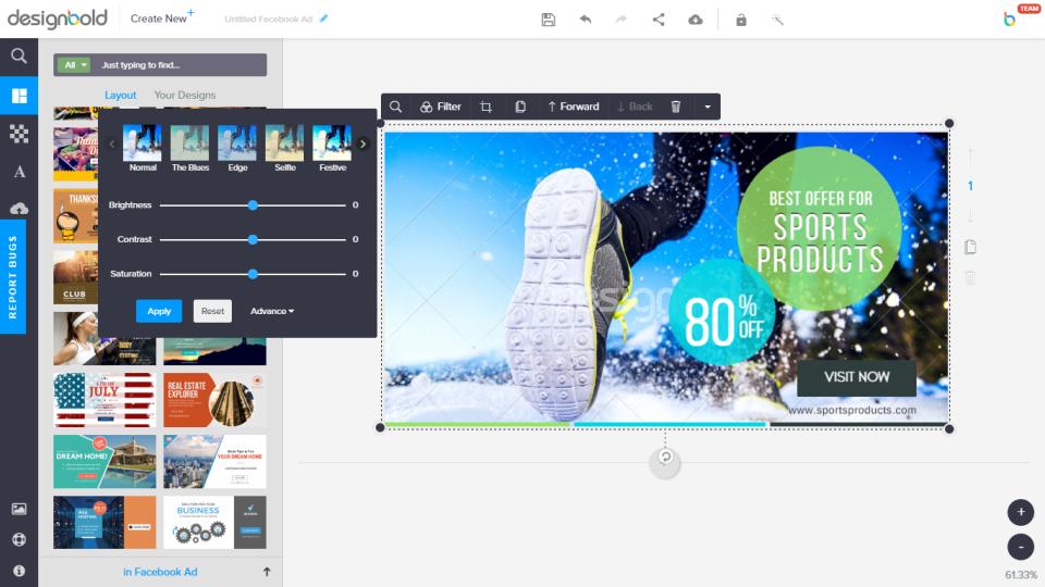 Phần mềm thiết kế Poster - DesignBold