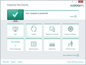 Phần mềm diệt virusKaspersky Anti-Virus