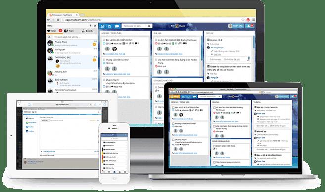 Phần mềm quản lý công việc MyXTeam