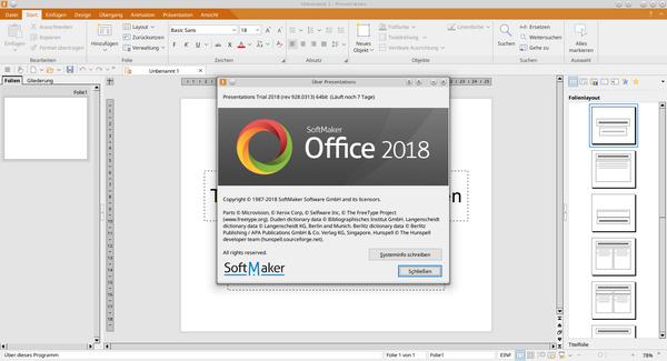 Phần mềm soạn thảo văn bảnSoftMaker Office