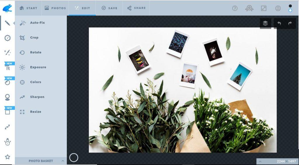 Top 5 phần mềm chỉnh sửa ảnh trực tuyến - Photoshop online