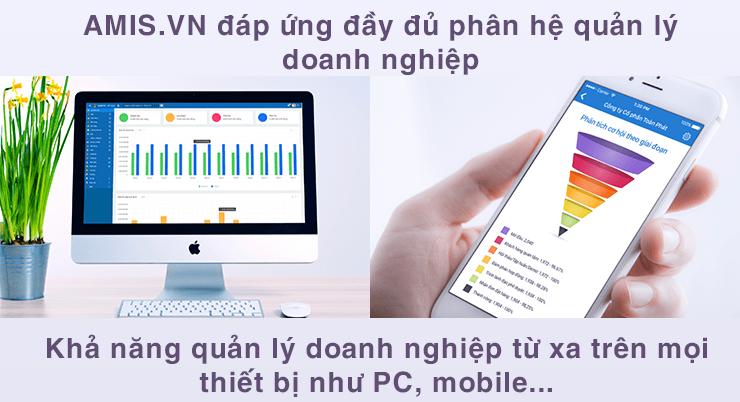 Phần mềm cho doanh nghiệp AMIS.VN