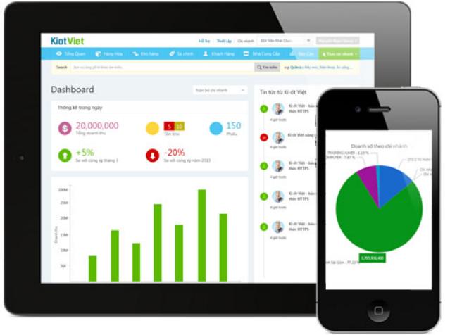 Phần mềm quản lý vật tư Kiotviet
