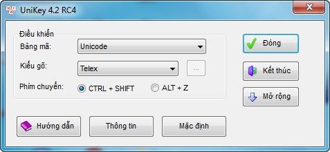 Phần mềm gõ tiếng Việt
