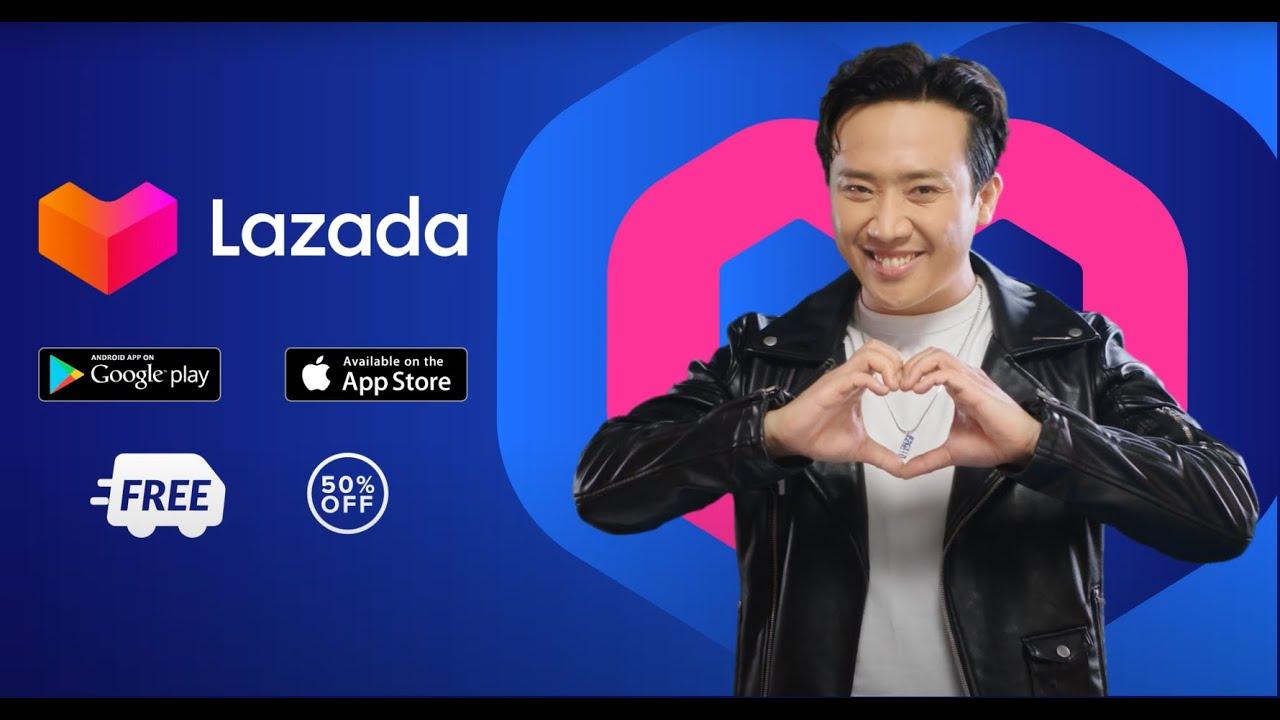 LAZADA   Nghe Trấn Thành bật mí cách shopping xịn sò trên app Lazada - YouTube