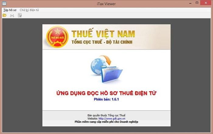 Tải, Cài đặt phần mềm đọc file XML iTaxViewer mới nhất 1.7.3
